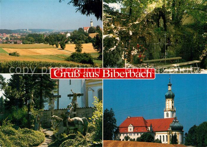 AK / Ansichtskarte Biberbach Schwaben Wallfahrtskirche Biberbach Schwaben Kat. Biberbach