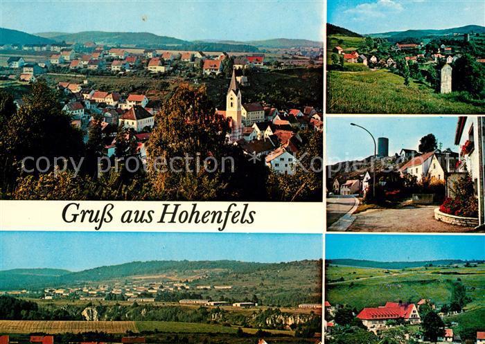 AK / Ansichtskarte Hohenfels Oberpfalz Panoramen Hohenfels Oberpfalz Kat. Hohenfels