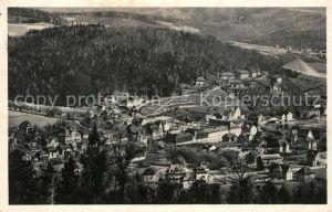 AK / Ansichtskarte Oberschlema Erzgebirge Radiumbad Fliegeraufnahme Oberschlema Erzgebirge Kat. Bad Schlema
