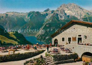 AK / Ansichtskarte Berchtesgaden Kehlsteinhaus Steinernes Meer Koenigssee Watzmann Berchtesgaden Kat. Berchtesgaden