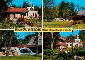 AK / Ansichtskarte Bad Homburg Taunus Therme Thermalbad Bad Homburg Kat. Bad Homburg v.d. Hoehe