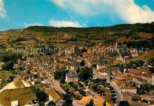 AK / Ansichtskarte Saint Cyprien Dordogne Vue aerienne panoramique Saint Cyprien Dordogne Kat. Saint Cyprien