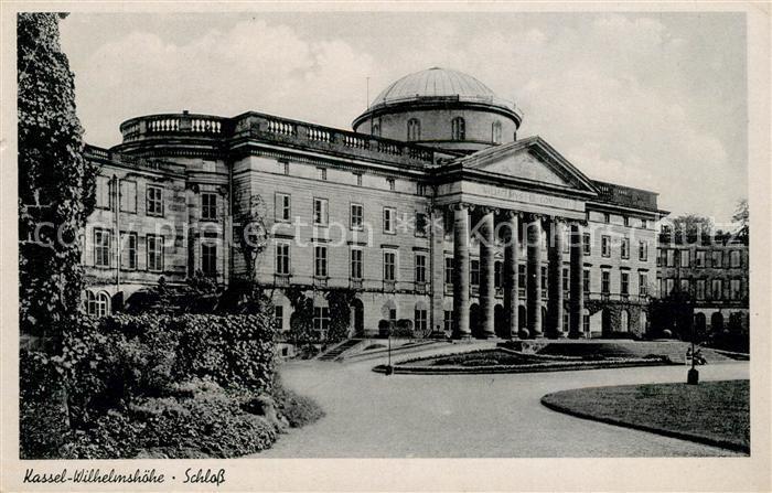 Wilhelmshoehe Kassel Schloss Wilhelmshoehe Kassel Kat. Kassel