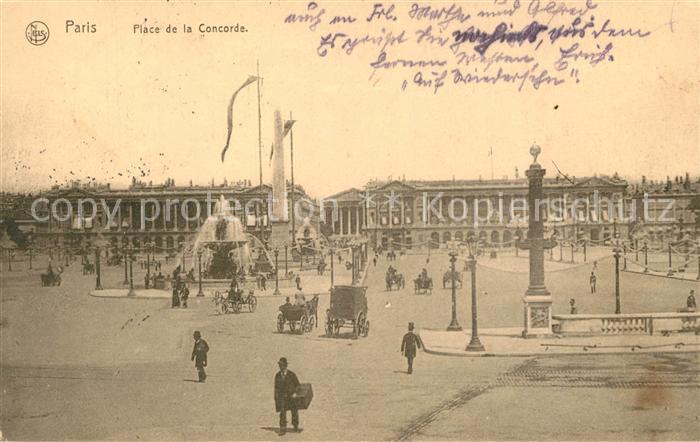 Paris Place de la Concorde Paris Kat. Paris