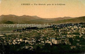 Cannes Alpes Maritimes Vue generale prise de la Californie Cannes Alpes Maritimes Kat. Cannes