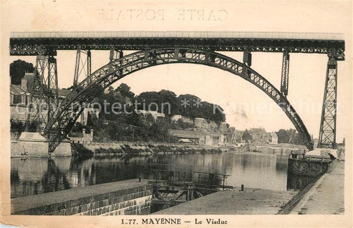 AK / Ansichtskarte Mayenne Le Viaduc Mayenne Kat. Mayenne