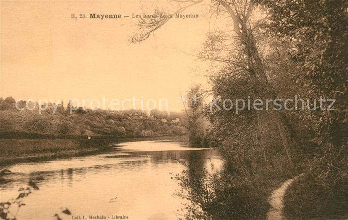 AK / Ansichtskarte Mayenne Les bords de la Mayenne Mayenne Kat. Mayenne