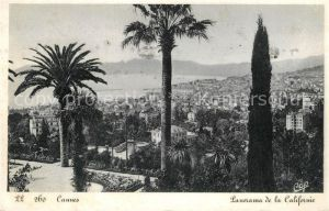 AK / Ansichtskarte Cannes Alpes Maritimes Panorama de la Californie Cannes Alpes Maritimes Kat. Cannes