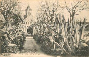 AK / Ansichtskarte Ile Saint Honorat Alpes Maritimes Entree de l Abbaye Ile Sai