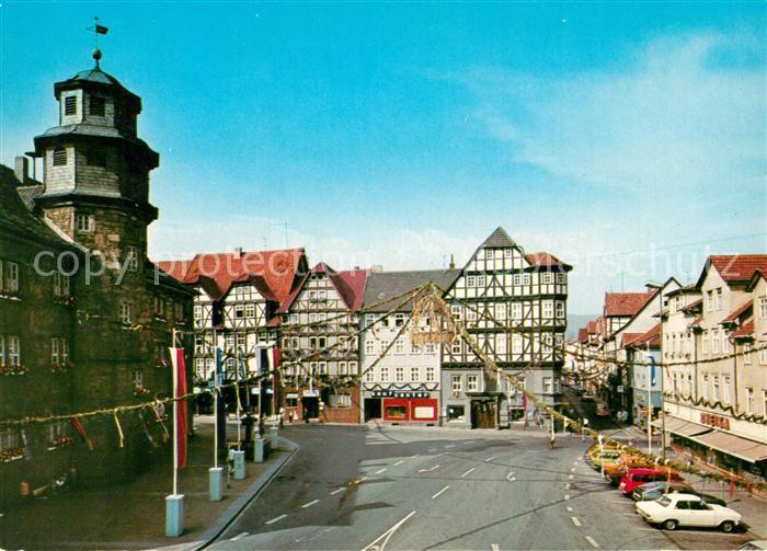 AK / Ansichtskarte Witzenhausen Markt  Witzenhausen Kat. Witzenhausen