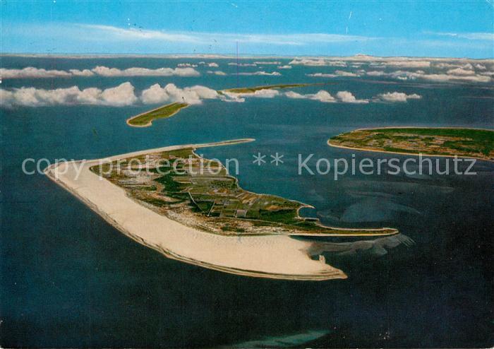 Karte Sylt Amrum.Ak Ansichtskarte Amrum Fliegeraufnahme Insel Foehr Sylt Amrum Kat Nebel
