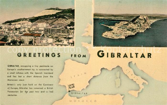 AK / Ansichtskarte Gibraltar  Gibraltar Kat. Gibraltar