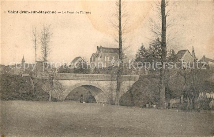 AK / Ansichtskarte Saint Jean sur Mayenne Le Pont de l Ernee Saint Jean sur Mayenne Kat. Saint Jean sur Mayenne