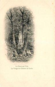 AK / Ansichtskarte La_Pierre qui Vire La Vierge du Chemin de Croix La_Pierre qui Vire Kat. La Chapelle du Mont de France