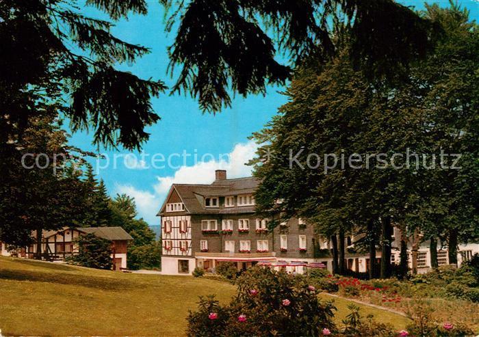 AK / Ansichtskarte Jagdhaus_Sauerland Jagdhaus Wiese Hotel Pension Jagdhaus Sauerland Kat. Schmallenberg