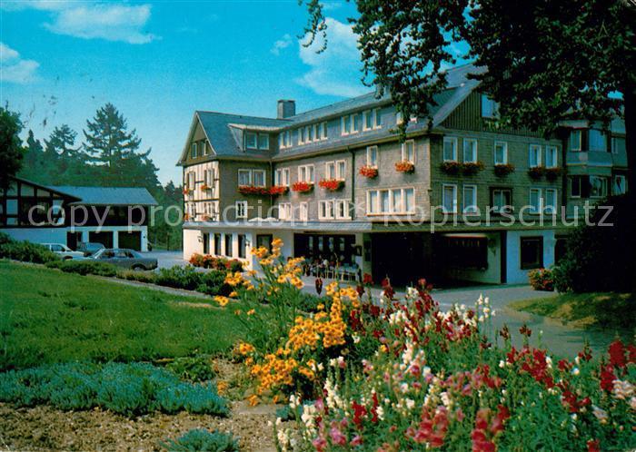AK / Ansichtskarte Jagdhaus_Sauerland Hotel Jagdhaus Wiese Jagdhaus Sauerland Kat. Schmallenberg