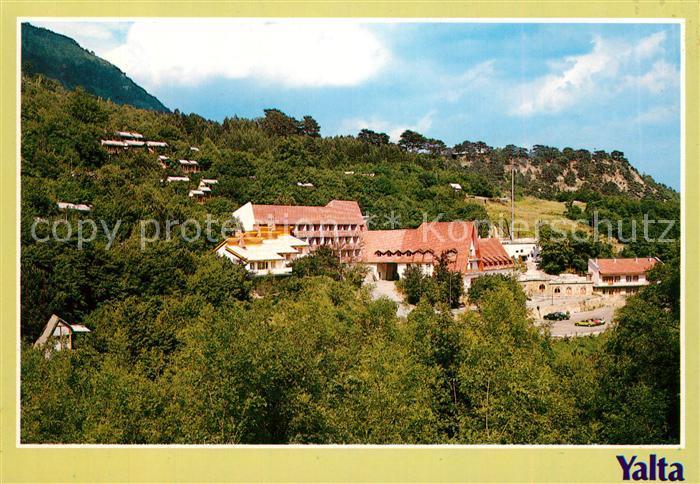 AK / Ansichtskarte Yalta Motel Camping Ground Meadow of Fairy Tales Yalta Kat. Yalta
