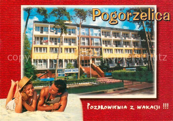 AK / Ansichtskarte Pogorzelica Bociane Cniazdo Pogorzelica