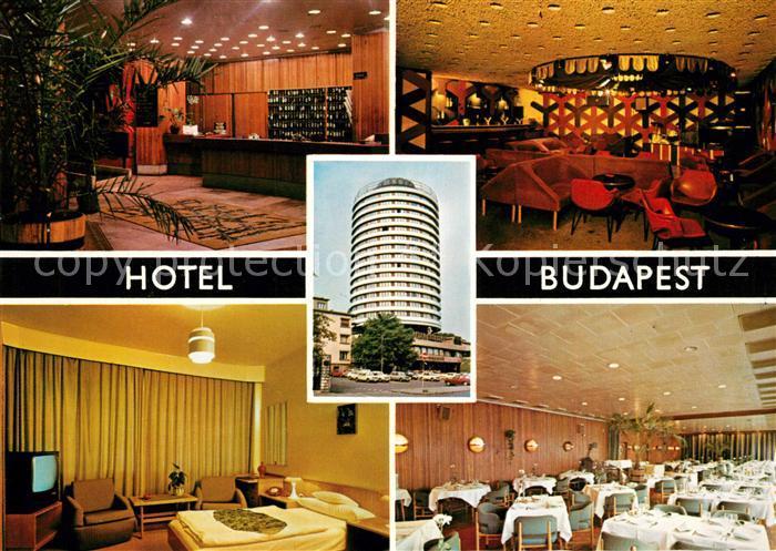 AK / Ansichtskarte Budapest Hotel Budapest Budapest Kat. Budapest