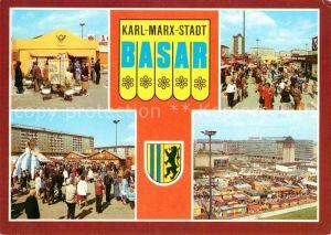 AK / Ansichtskarte Karl Marx Stadt Basar Karl Marx Stadt Kat. Chemnitz