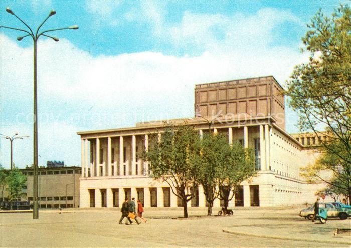 AK / Ansichtskarte Lodz Teatr Wielki Theater Lodz Kat. Lodz