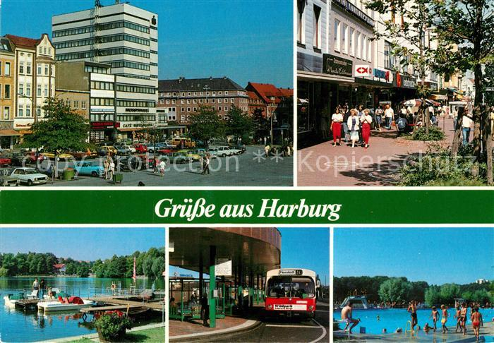 AK / Ansichtskarte Harburg_Hamburg Ortsansichten Harburg Hamburg Kat. Hamburg