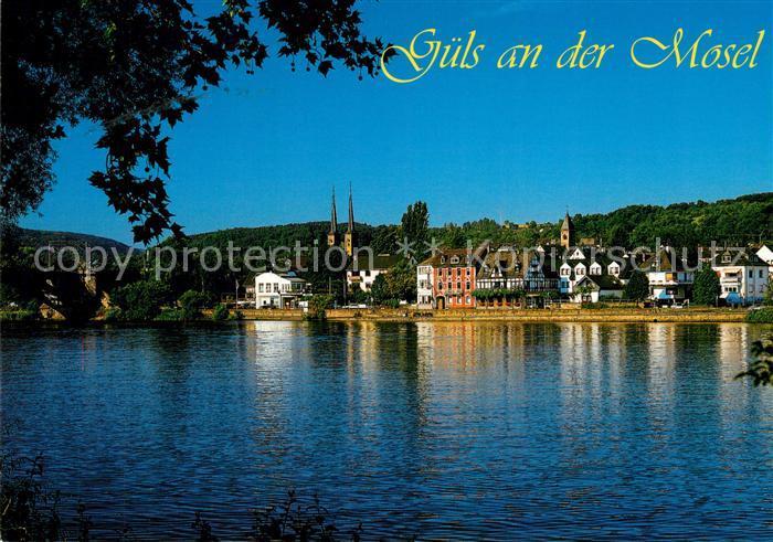 AK / Ansichtskarte Guels_Koblenz Blick ueber die Mosel zum Ort Guels Koblenz Kat. Koblenz