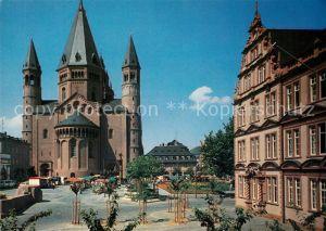 AK / Ansichtskarte Mainz_Rhein Dom Gutenberg Museum  Mainz Rhein
