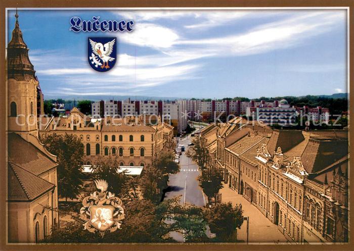 AK / Ansichtskarte Lucenec_Losonc Kubinyiho Namestie Vajanskeho Ulica Lucenec Losonc Kat. Slowakei