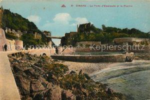 AK / Ansichtskarte Dinard_Ille_et_Vilaine_Bretagne La Porte d'Emeraude et la Piscine Dinard_Ille Kat. Dinard