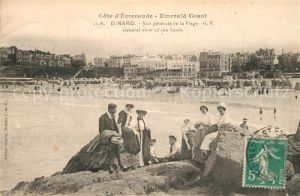 AK / Ansichtskarte Dinard_Ille_et_Vilaine_Bretagne Vue generale de la Plage  Dinard_Ille Kat. Dinard