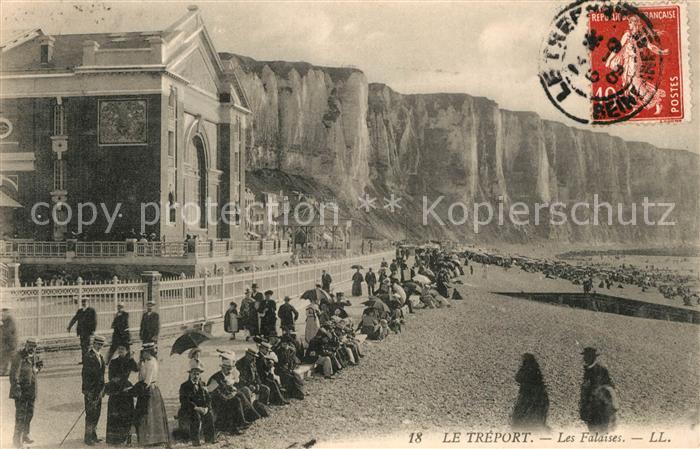 AK / Ansichtskarte Le_Treport Les Falaises Le_Treport Kat. Le Treport