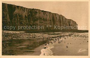 AK / Ansichtskarte Le_Treport_Mers La plage du Treport a l'heure du Bain