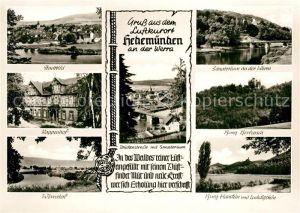 AK / Ansichtskarte Hedemuenden Rappenhof Burg Hanstein Ludwigstein Hedemuenden Kat. Hann. Muenden
