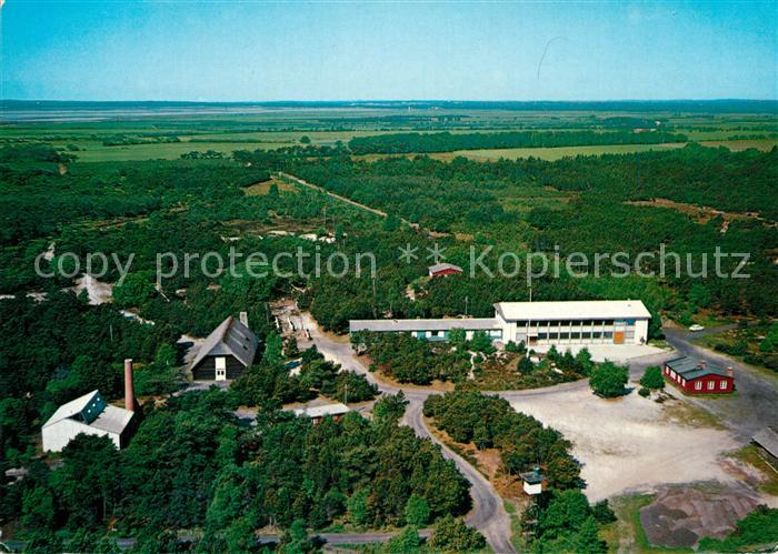 AK / Ansichtskarte Hadsund Fliegeraufnahme Himmerlandsgarden Adventistsamfundets Spejdergard Hadsund Kat. Hadsund