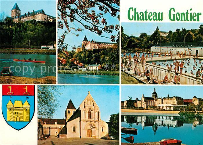 AK / Ansichtskarte Chateau Gontier  Chateau Gontier Kat. Chateau Gontier