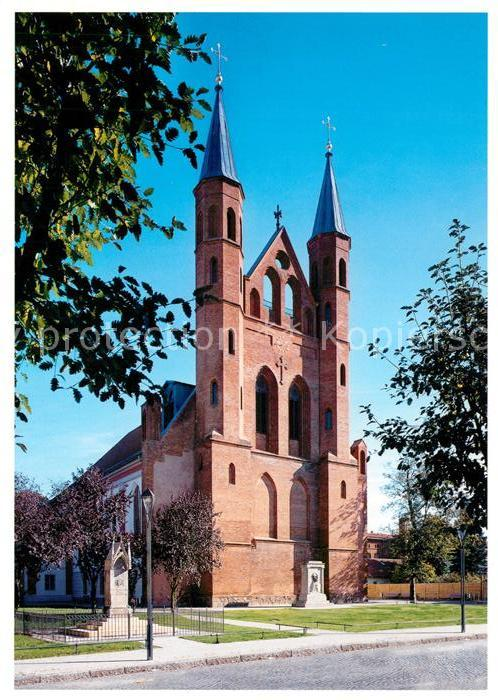 AK / Ansichtskarte Kyritz_Brandenburg St. Marienkirche  Kyritz Brandenburg Kat. Kyritz