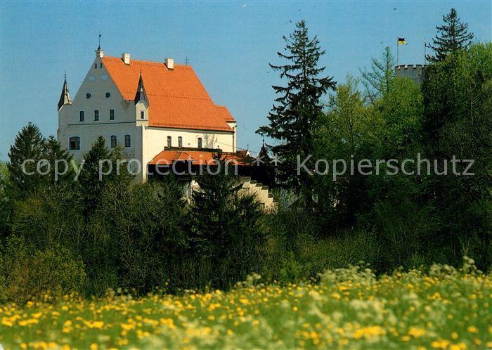 AK / Ansichtskarte Mindelheim Mindelburg Mindelheim Kat. Mindelheim