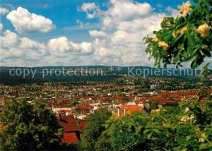 AK / Ansichtskarte Pforzheim Panorama Blick vom Wartberg Goldstadt Schmuck Silberwaren Uhrenindustrie Pforte zum Schwarzwald Pforzheim Kat. Pforzheim