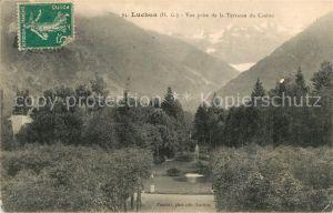 AK / Ansichtskarte Luchon_Haute Garonne Vue prise de la Terrasse du Casino Luchon Haute Garonne Kat. Bagneres de Luchon