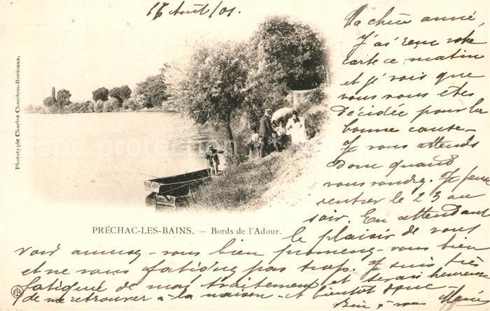 AK / Ansichtskarte Prechacq les Bains Bords de l Adour Prechacq les Bains Kat. Prechacq les Bains