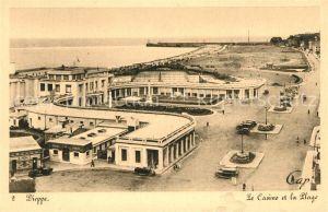 AK / Ansichtskarte Dieppe_Seine Maritime Casino Strand Dieppe Seine Maritime Kat. Dieppe