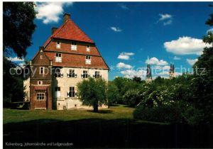 AK / Ansichtskarte Billerbeck_Westfalen Kolvenburg Johanniskirche und Ludgerusdom Billerbeck_Westfalen Kat. Billerbeck