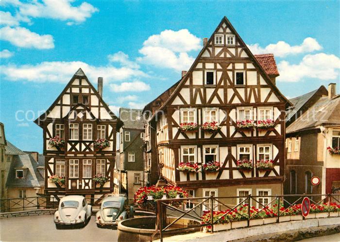 AK / Ansichtskarte Wetzlar Kornmarkt Altstadt Fachwerkhaeuser Wetzlar Kat. Wetzlar