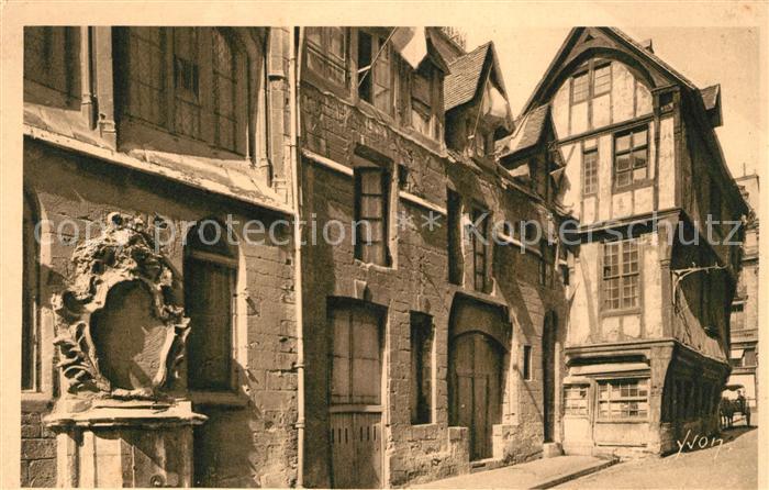 AK / Ansichtskarte Rouen Rue Saint Romain Vieilles Maisons Rouen Kat. Rouen