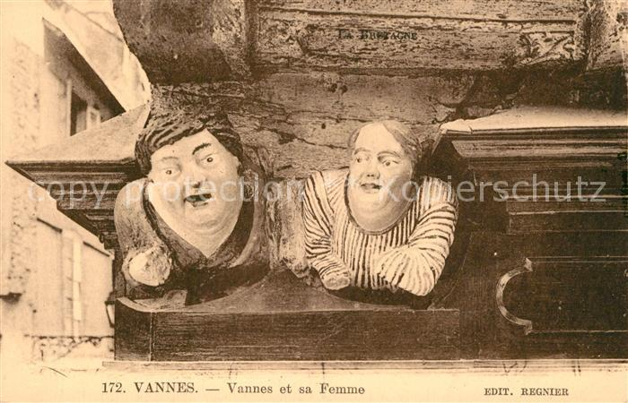 AK / Ansichtskarte Vannes Vannes sa Femme Vannes Kat. Vannes