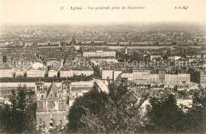 AK / Ansichtskarte Lyon_France Vue generale prise de Fourviere Lyon France Kat. Lyon
