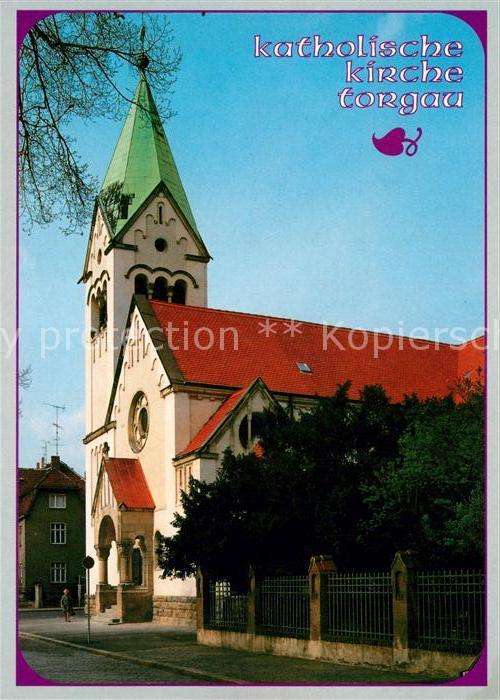 AK / Ansichtskarte Torgau Katholische Kirche  Torgau Kat. Torgau
