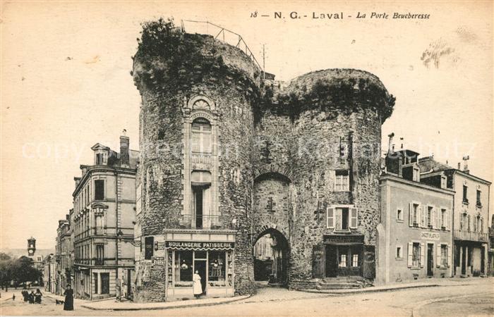 AK / Ansichtskarte Laval_Mayenne Porte Brueberesse Laval Mayenne Kat. Laval