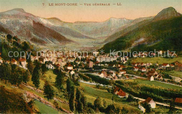 AK / Ansichtskarte Le_Mont Dore Panorama Le_Mont Dore Kat. Mont Dore